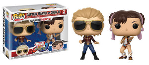 Captain Marvel vs Chun-Li X Funko Pop! Games Marvel vs Capcom