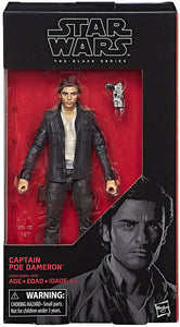 Captain Poe Dameron Star Wars The Last Jedi Black Series 6 Inch Figure