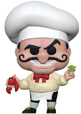 Chef Louis Funko Pop Little Mermaid