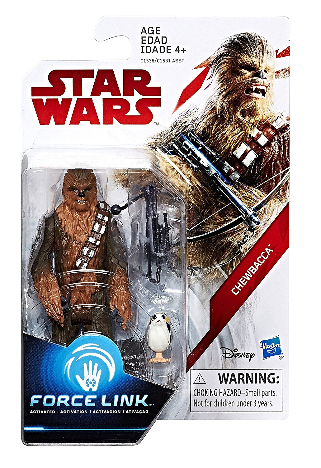 Chewbacca Star Wars The Last Jedi 3.75 Inch Figure