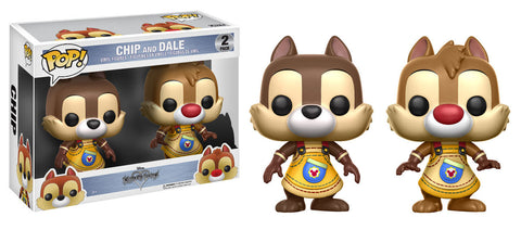 Chip and Dale Funko Pop! Disney Kingdom Hearts