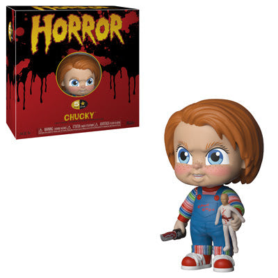 Chucky 5 Star Vinyl Horror Figure