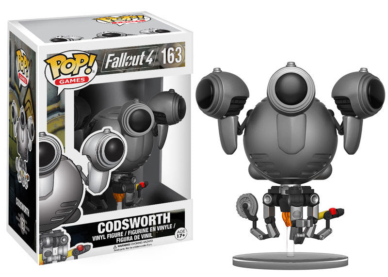 Codsworth Funko Pop! Games Fallout 4