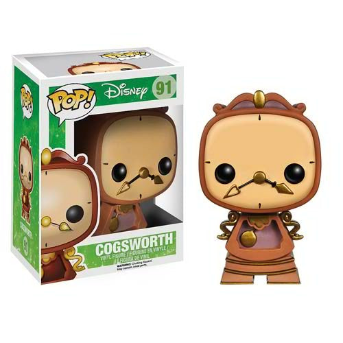 Cogsworth Funko Pop Disney Beauty and the Beast