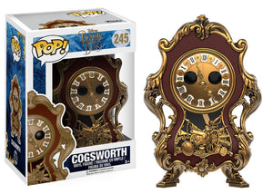 Cogsworth Funko Pop! Disney Beauty and the Beast Live Action