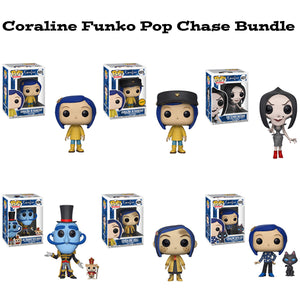 be6f51c6524 Coraline Funko Pop! Animation Chase Bundle