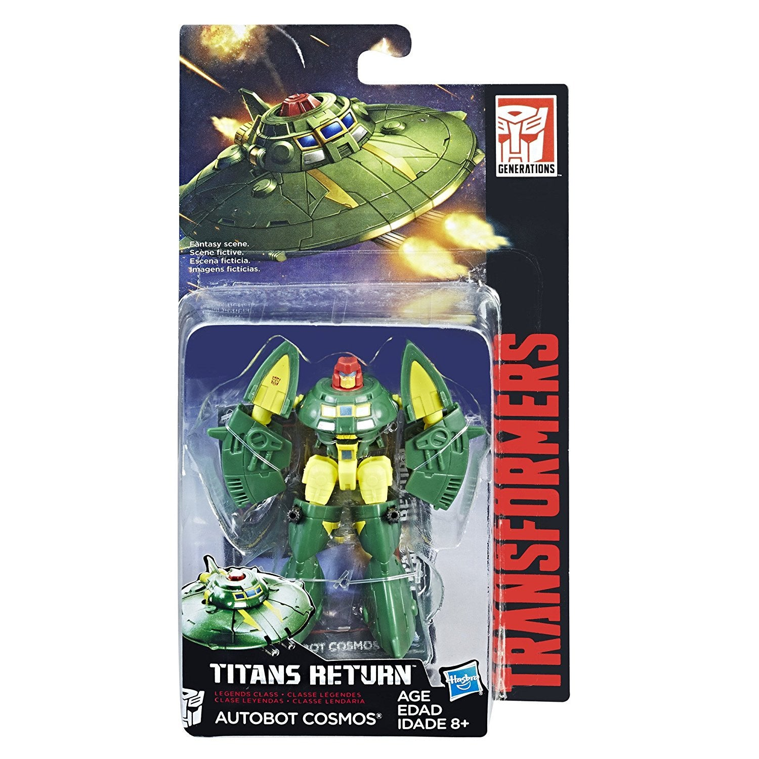 Cosmos Transformers Generations Titans Return Legends Class