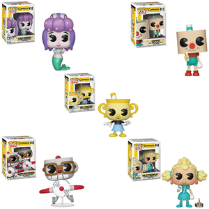 Cuphead Series 2 Funko Pop Bundle