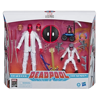Deadpool and Hit Monkey Marvel Legends 6-Inch Exclusive Action Figure 2-Pack
