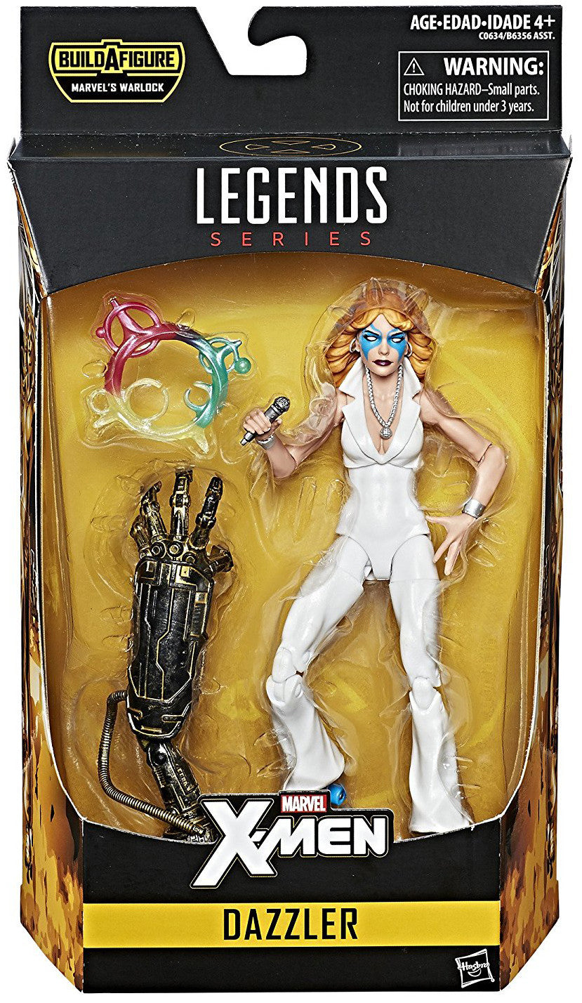 Dazzler Marvel Legends Action Figure Warlock Wave