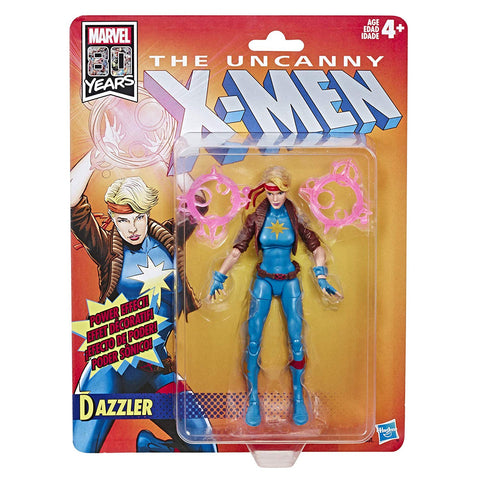 Dazzler X-Men Marvel Legends Vintage Action Figure