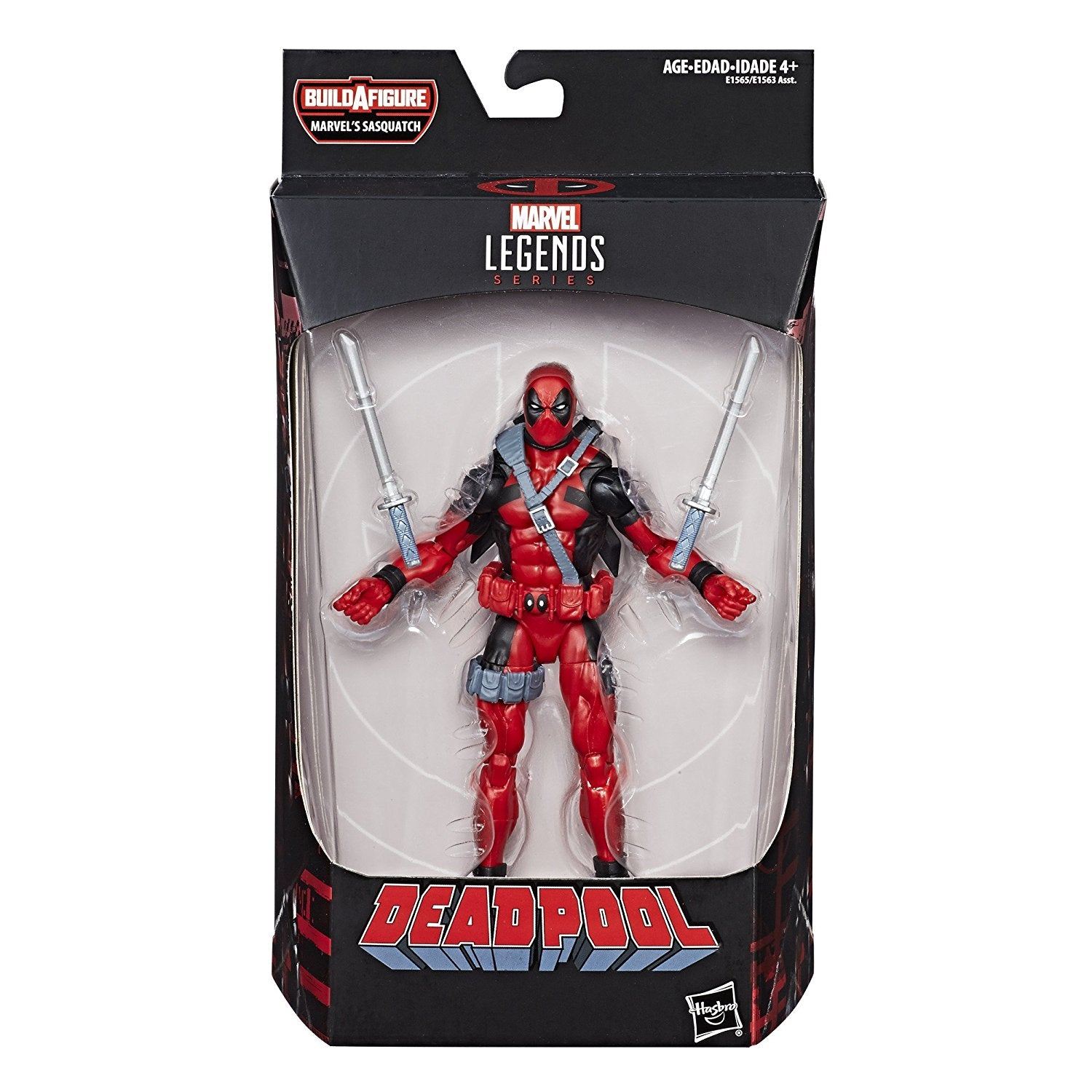 Deadpool Marvel Legends Action Figure Sasquatch Wave