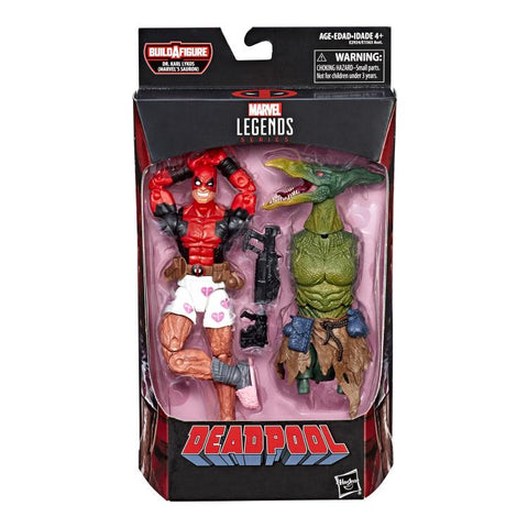 Deadpool Boxers Marvel Legends Sauron Build-A-Figure Wave