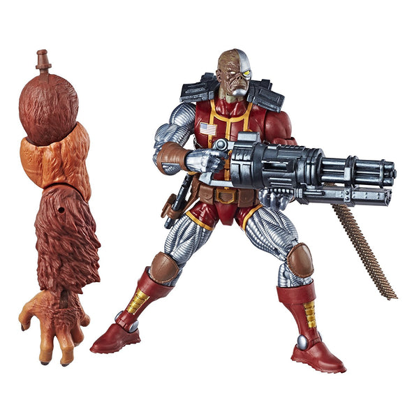 Deathlok Marvel Legends Action Figure Sasquatch Build-A-Figure Wave