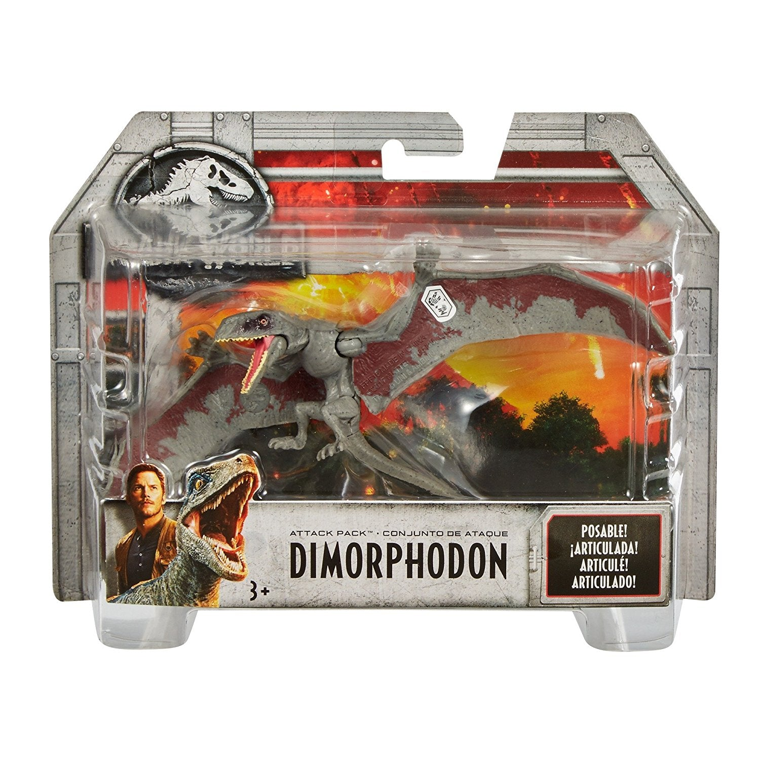 Dimorphodon Jurassic World Attack Pack Figure