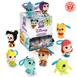 Disney Pixar Funko Mystery Minis Plush Keychains Sealed Case