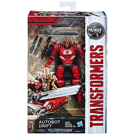 Autobot Drift Transformers The Last Knight Premier Edition Deluxe Class