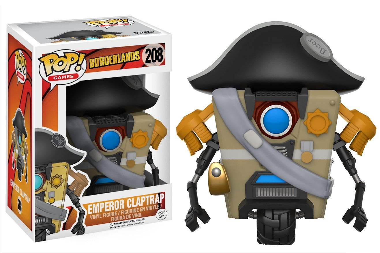 Emperor Claptrap Funko Pop! Games Borderlands