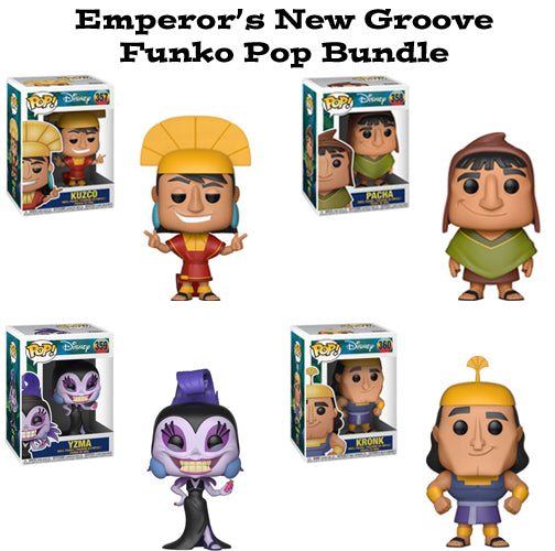 Emperor's New Groove Funko Pop! Disney Bundle