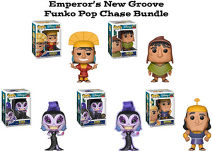 Emperor's New Groove Funko Pop! Disney Chase Bundle