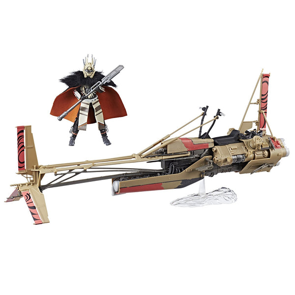 Enfys Nest and Swoop Bike Star Wars Black Series Vehicle