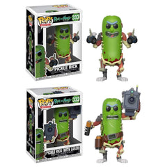 Pickle Rick Funko Pop! Animation Bundle