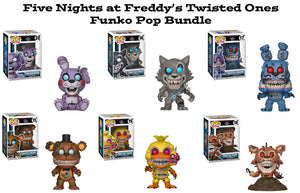 Five Nights At Freddy's Twisted Ones Funko Pop! Games Bundle