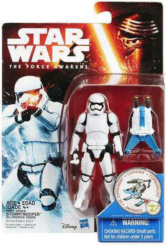 First Order Stormtrooper Star Wars Force Awakens Snow Figure