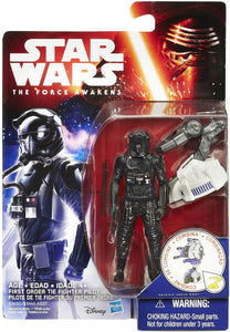 First Order TIE Fighter Pilot Star Wars Force Awakens Space Figure
