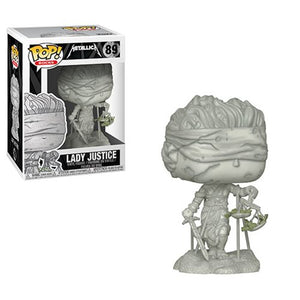 Lady Justice Funko Pop! Rocks Metallica