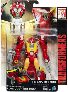 Hot Rod & Firedrive Transformers Generations Titans Return Deluxe Class