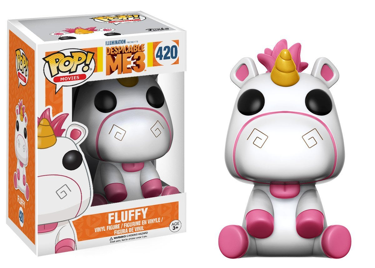 Fluffy Funko Pop! Movies Despicable Me 3