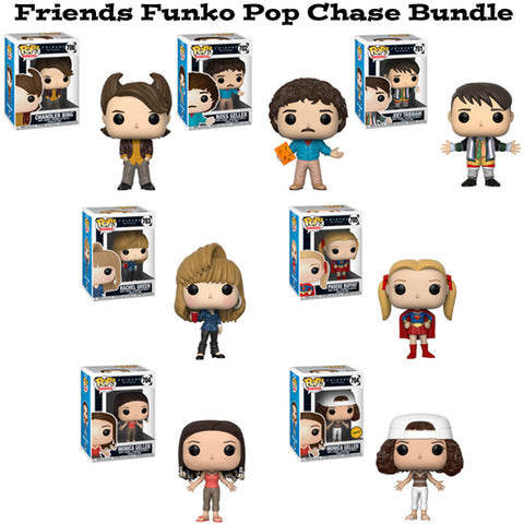 Friends Funko Pop Television Chase Bundle