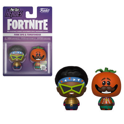 Fortnite Funko Ops and Tomatohead Pint Size Heroes 2-Pack