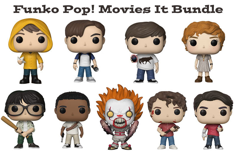 Funko Pop! Movies It Bundle