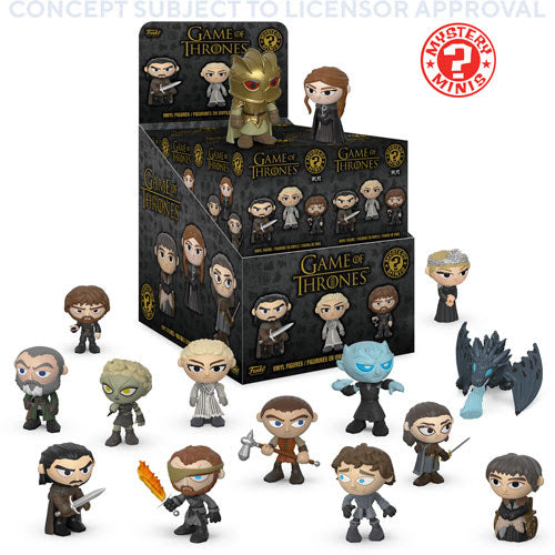 Game of Thrones Funko Mystery Minis Sealed Case