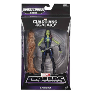 Gamora Guardians Of The Galaxy Marvel Legends 6-Inch Action Figure Groot Build-A-Figure Wave