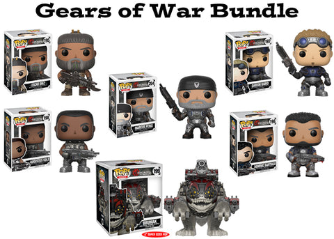 Gears of War Funko Pop! Games Bundle