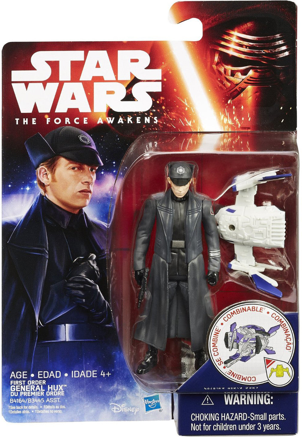 General Hux Star Wars Force Awakens Space Figure