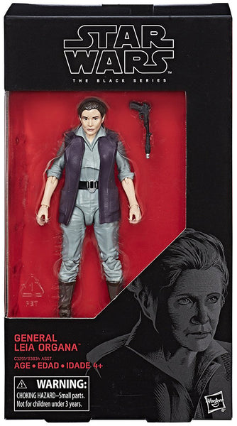General Leia Organa Star Wars Black Series 6 Inch Figure