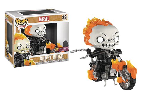 Ghost Rider with Bike Funko Pop Rides Exclusive