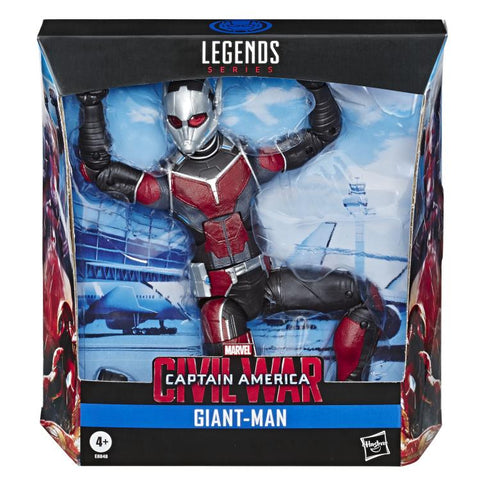 Giant Man Marvel Legends 10-Inch Captain America Civil War Deluxe Action Figure