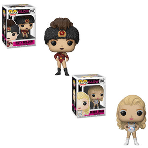 Glow Funko Pop! Television Bundle
