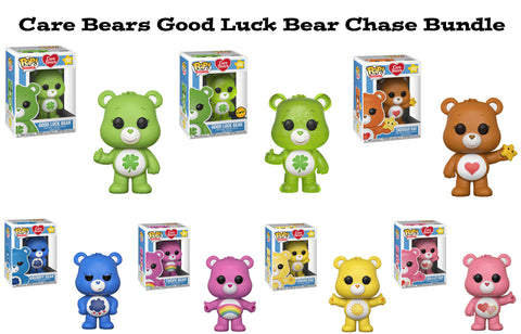 Care Bears Funko Pop! Animation Good Luck Bear Chase Bundle