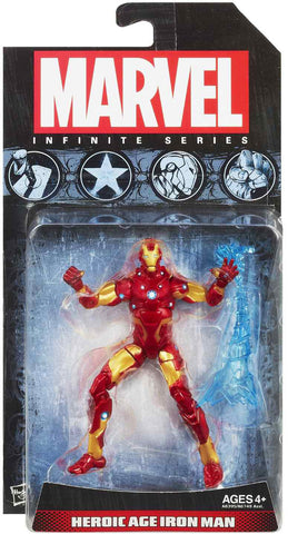 Heroic Age Iron Man Marvel Infinite 3.75-Inch Action Figure