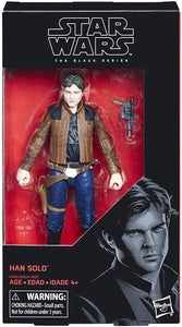 Han Solo Star Wars The Black Series 6 Inch Action Figure