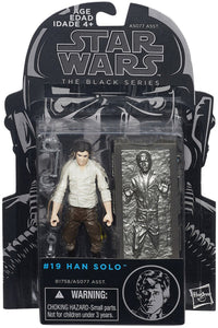 Han Solo with Carbonite Star Wars Black Series 3.75-Inch