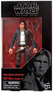 Han Solo Bespin Star Wars Black Series 6-Inch