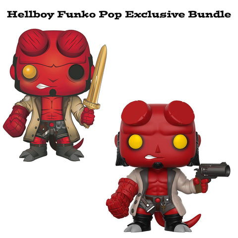 Hellboy Funko Pop! Comics Exclusive Bundle