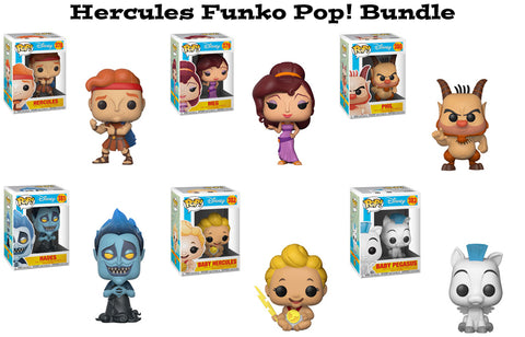 Hercules Funko Pop! Disney Bundle
